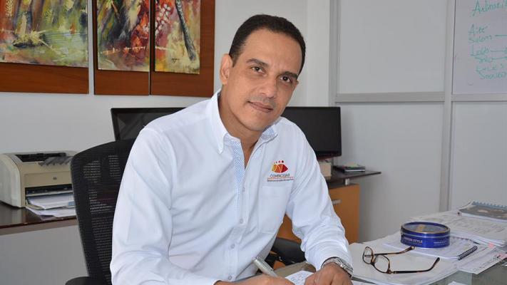 El director de la Caja de Compensación Familiar, Comfacesar, Frank Montero Villegas.   FOTO/Cortesía/EL PILÓN