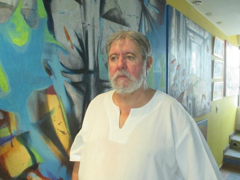 Francisco Ruíz, artista plástico.   FOTO/CORTESÍA.