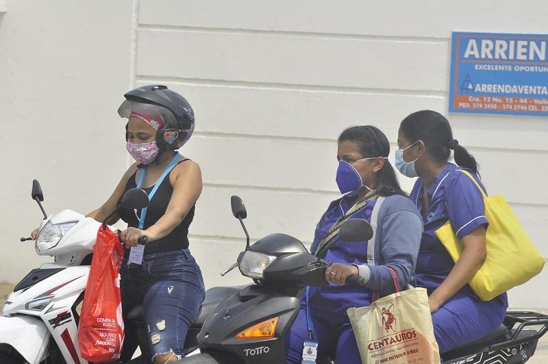 En Valledupar  se registran 78 contagios por la covid-19.   FOTO/JOAQUÍN RAMÍREZ.