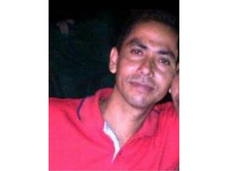 Jhon Fredy Trujillo, víctima.