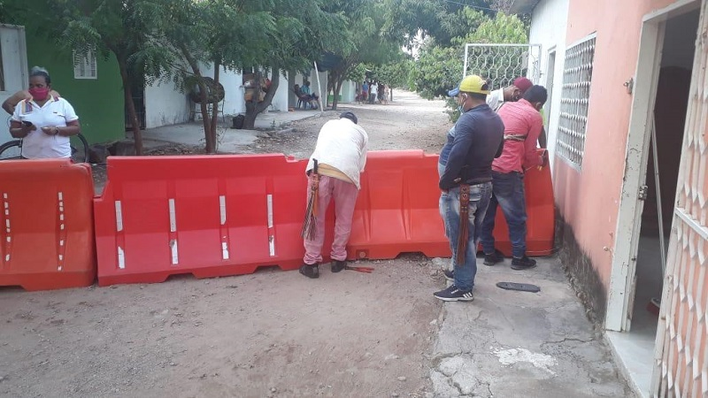 Accesos cerrados y demás medidas restrictivas fueron violadas por la comunidad.  FOTO/CORTESÍA.