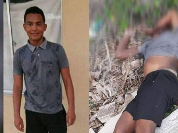 El joven fue hallado tirado cerca de una finca.   FOTO/CORTESÍA.