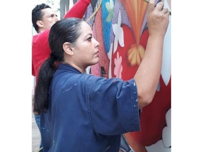 Yarime Lobo, artista.   FOTO: CORTESÍA.