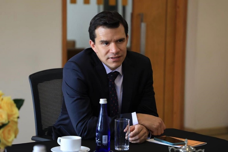 Director de Regiones del Ministerio de Vivienda, Camilo Quiroz.   FOTO/CORTESÍA.