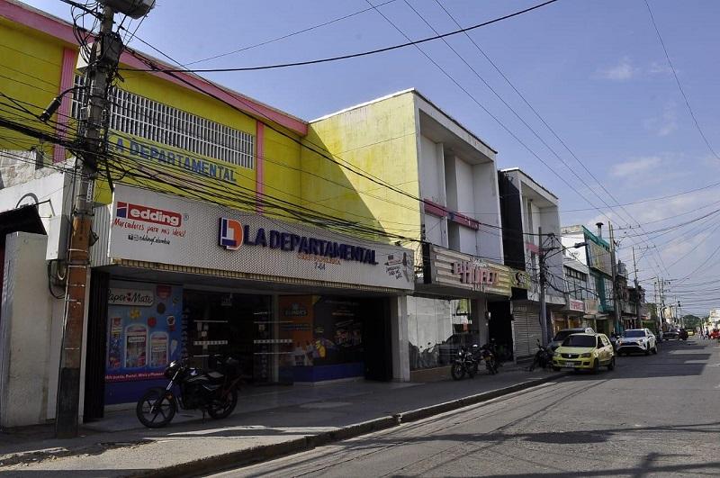 De tres sedes, solo en esta la principal, gradualmente opera la Departamental.  FOTO/ARCHIVO.