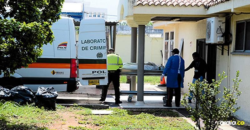 El cuerpo de la víctima fue llevado a la morgue de Valledupar.  FOTO/REFERENCIA.