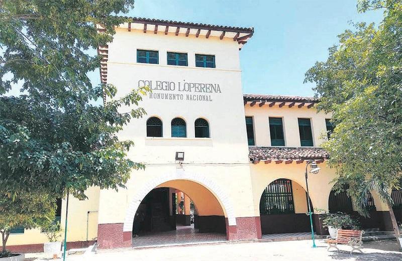 En El histórico colegio Loperena este año no se pudo agasajar a sus profesores.  FOTO/CORTESÍA.