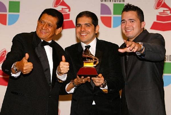 Peter Manjarrés y Sergio Luis Rodríguez ganaron gramófonos en el 2008 y 2009.      Foto/Cortesía.
