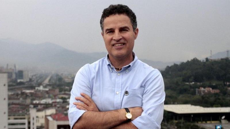 Aníbal Gaviria, gobernador de Antioquia.