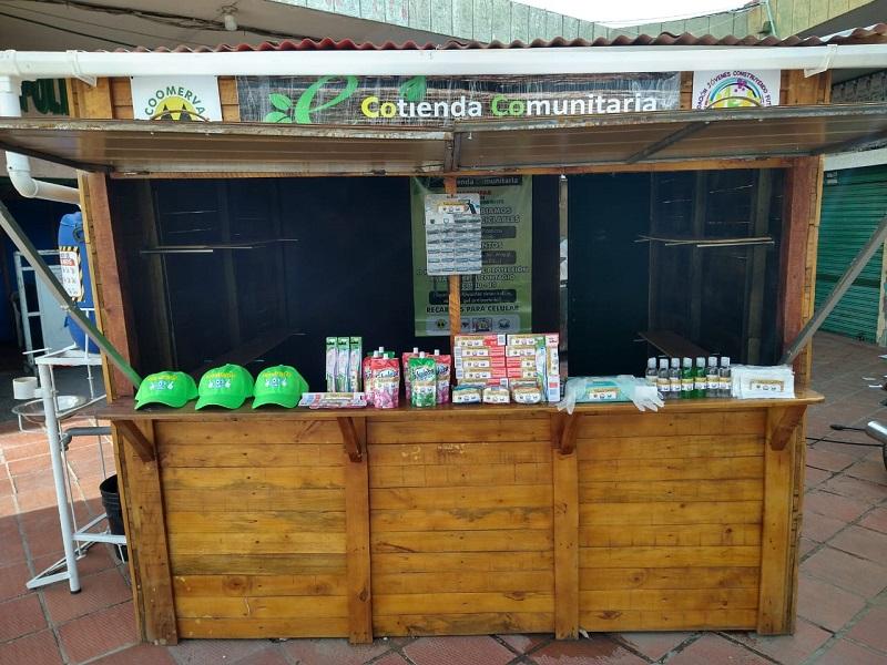 Así lucirá el primer punto de las ecotiendas que se proyectarán como una forma de apoyar el reciclaje en Valledupar.   FOTO/CORTESÍA.