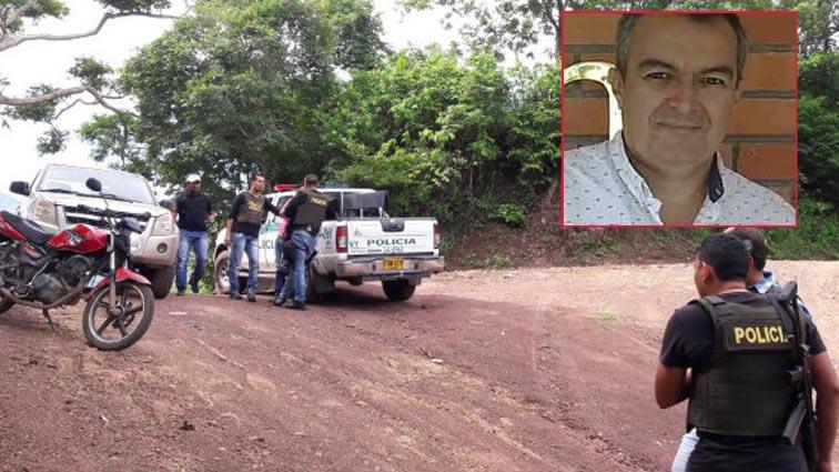 Juan Pablo Castillo fue secuestrado al sur del Cesar.   FOTO/CORTESÍA.