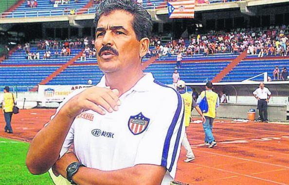 Jorge Luis Pinto estuvo en total 58 partidos en dos periodos como DT del equipo juniorista.  FOTO/CORTESÍA.