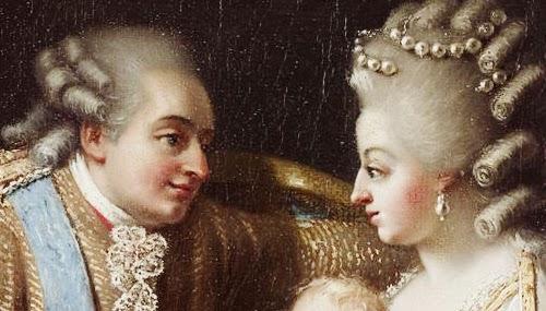 Luis XVI y su esposa María Antonieta de Austria, ambos fueron decapitados.  FOTO/REFERENCIA.