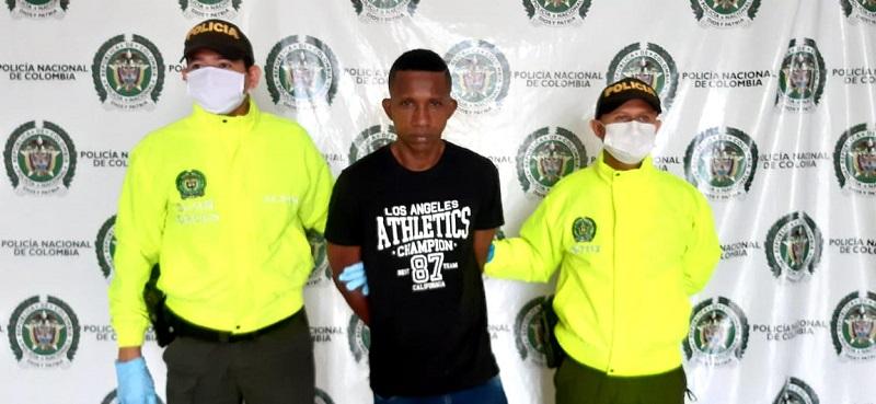 Ermides Rafael Meza, capturado.   FOTO/CORTESÍA.