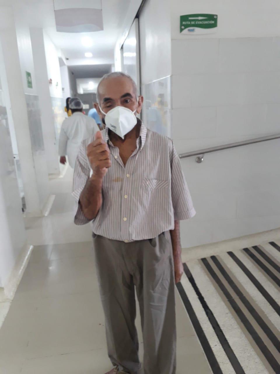 Andrés Bolívar Carrillo Mendoza, está abandonado en la sede del HEAD la Nevada.