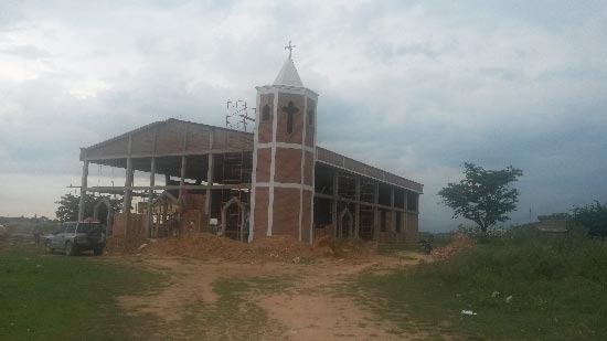 El robo fue en la Iglesia Santa Laura Montoya.  FOTO/REFERENCIA.