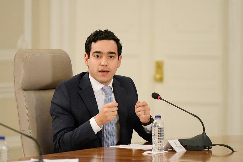 Luis Alberto Rodríguez, director del Departamento Nacional de Planeación.   Foto Cortesía DNP