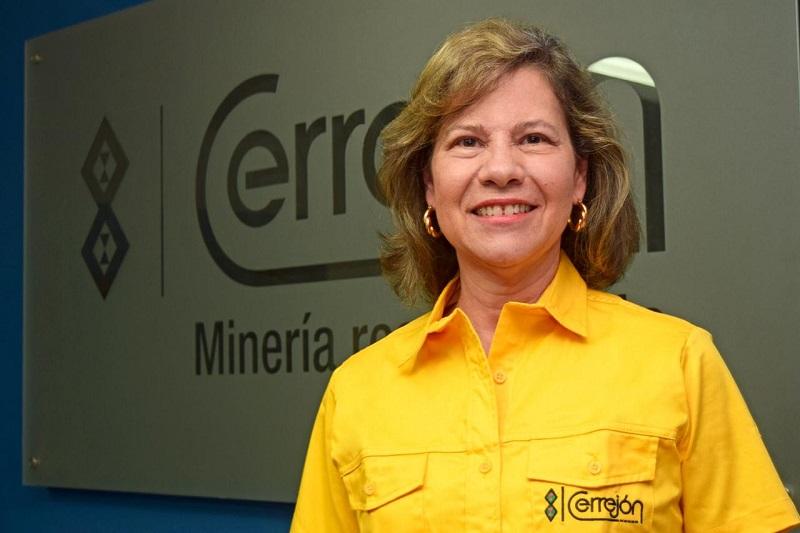 Claudia Bejarano, presidenta del Cerrejón.   FOTO/CORTESÍA.