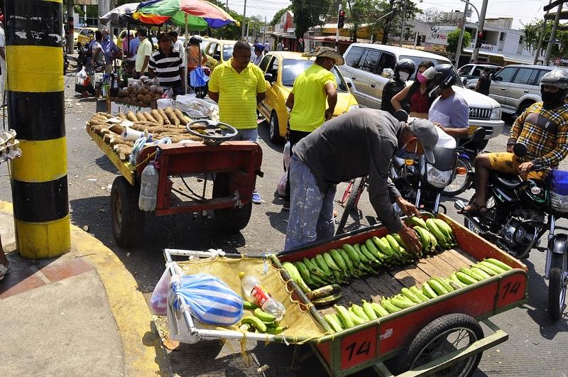 Mercado Público de Valledupar.   FOTO/CORTESÍA.