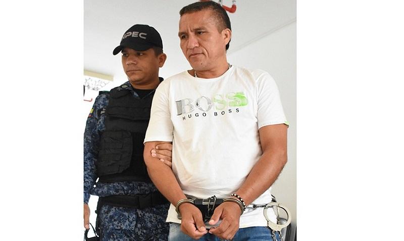 Elkin Hernández, condenado.   FOTO/CORTESÍA.