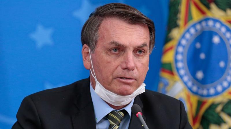 Jair Bolsonaro, presidente de Brasil.  FOTO/CORTESÍA.