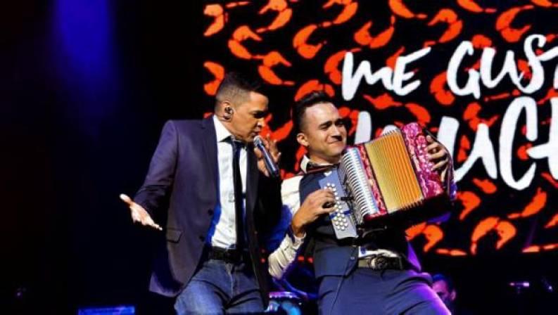 Jorge Celedón y Sergio Luis Rodríguez. FOTO/CORTESÍA.