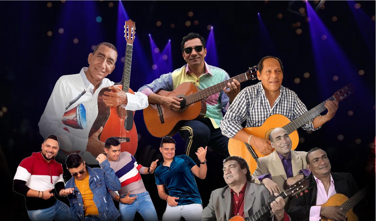 Reconocidos compositores y tríos de música de vallenata en guitarra pondrán la nota musical a la Feria Gastronómica Virtual 'Nuestro Sabor'.   Foto: Cortesía/EL PILÓN