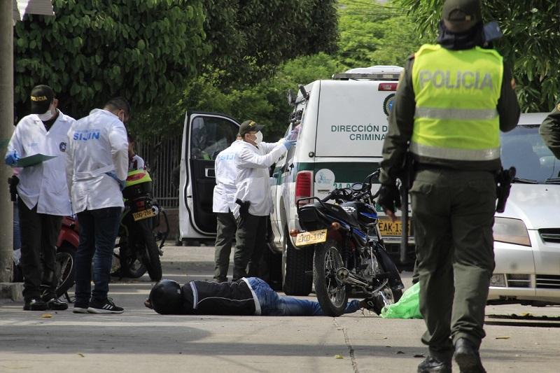 Solamente el 40 % de los homicidios en Valledupar se han esclarecido.  FOTO/ARCHIVO.