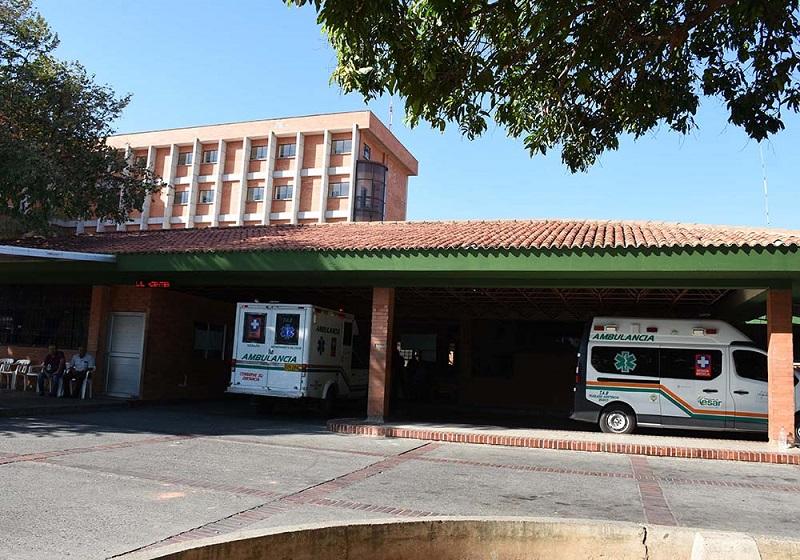 Hospital Rosario Pumarejo de López.   FOTO/CORTESÍA.