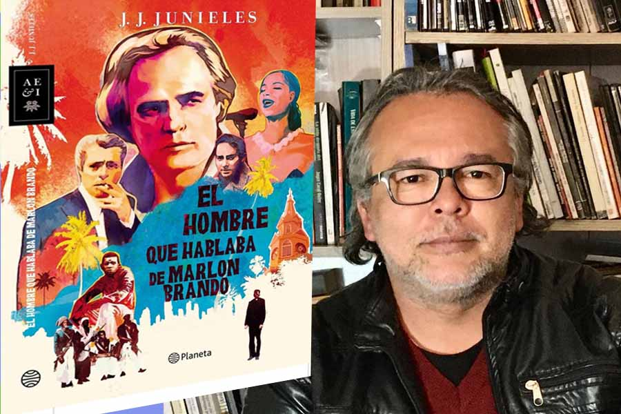 'El hombre que hablaba de Marlon Brando', la novela de JJ Junieles.