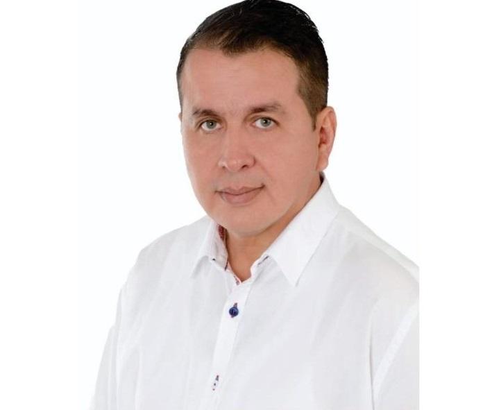 Luis Fernando De La Peña, enlace con el Ministerio de Salud y el departamento del Cesar sobre la covid-19.   FOTO/Cortesía/EL PILÓN