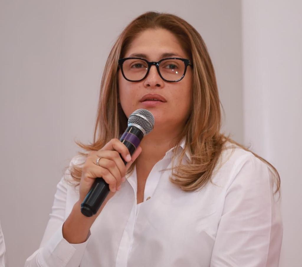 Alma Solano Sánchez, secretaria de Salud del Atlántico.