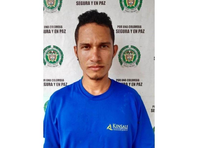 Gustavo Simanca está privado de la libertad desde el pasado mes de abril.  FOTO/CORTESÍA.