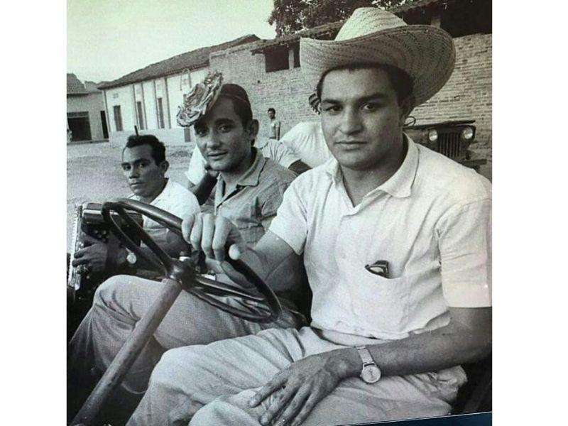 En un clásico Willy: Darío Pavajeau, Hugues Martínez y 'Colacho' Mendoza.  FOTO/CORTESÍA.