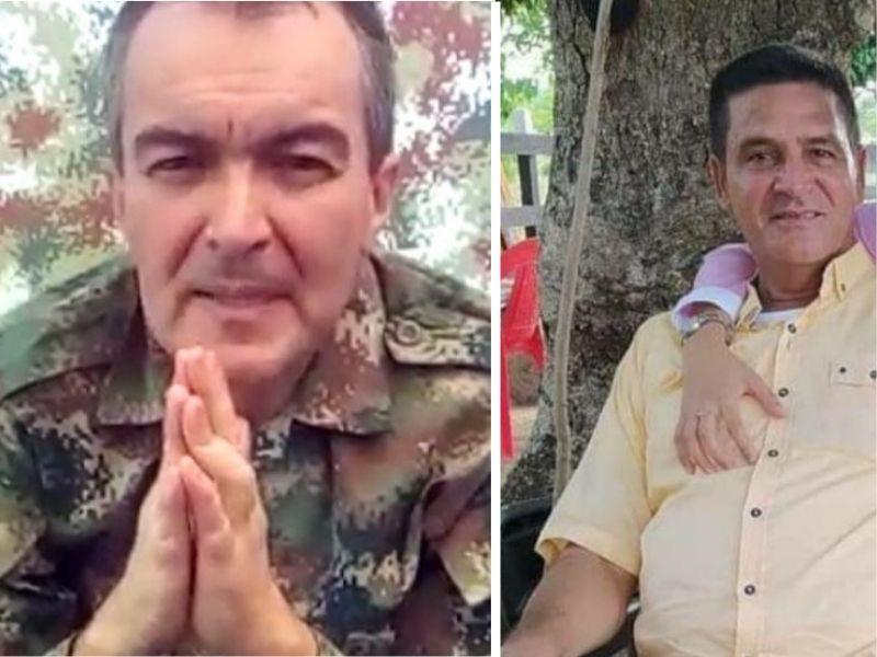 El ganadero Juan Pablo Castillo Esper fue asesinado en cautiverio el pasado 16 de junio y Andrés José Herrera Orozco fue secuestrado el reciente miércoles.  FOTO/CORTESÍA.
