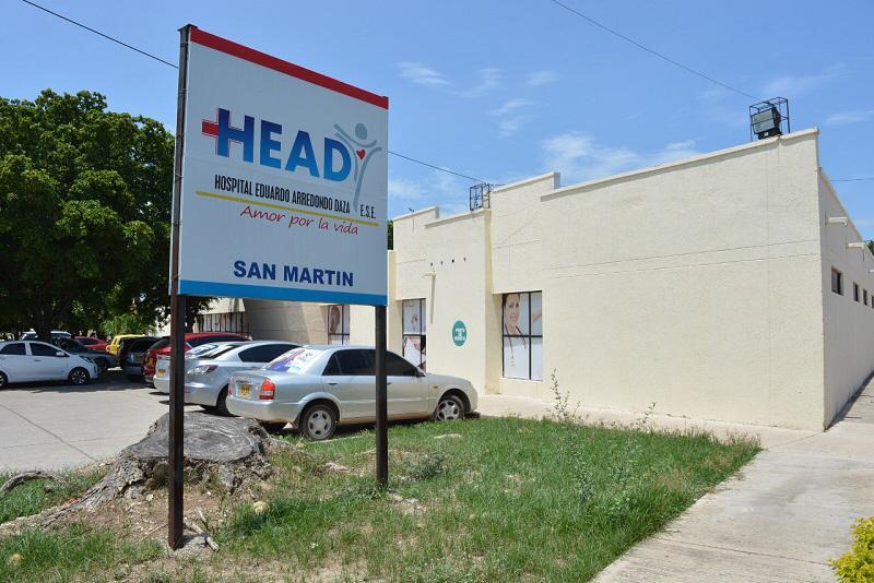 El Hospital Eduardo Arredondo Daza, sede San Martín tendrá Centro Materno Infantil. FOTO | Cortesía.