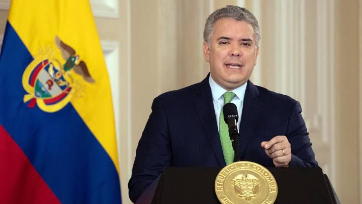 Iván Duque, presidente de Colombia.   FOTO/CORTESÍA.