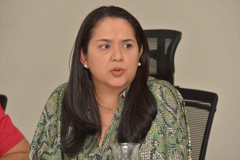 Lina Padro, gerente de Aguas del Cesar.  FOTO/CORTESÍA.