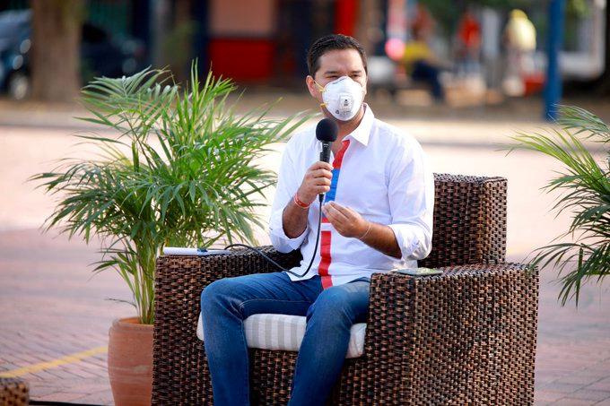 Mello Castro, alcalde de Valledupar.   FOTO/CORTESÍA.