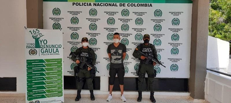 Manuel David Ceballos Alfaro deberá responder por el delito de extorsión.  FOTO/CORTESÍA.