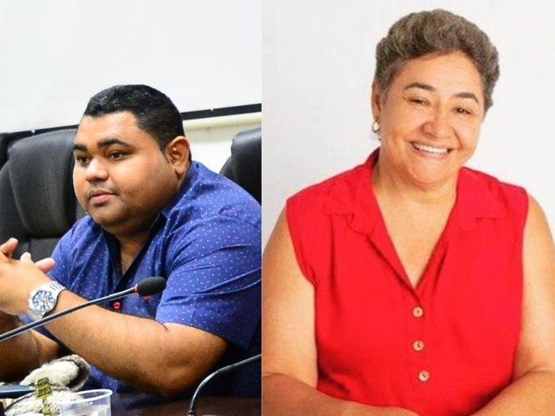 Los concejales Wilber Hinojosa y Thelma Gómez  se recuperan en casa de las secuelas del coronavirus.   Foto/Archivo/EL PILÓN