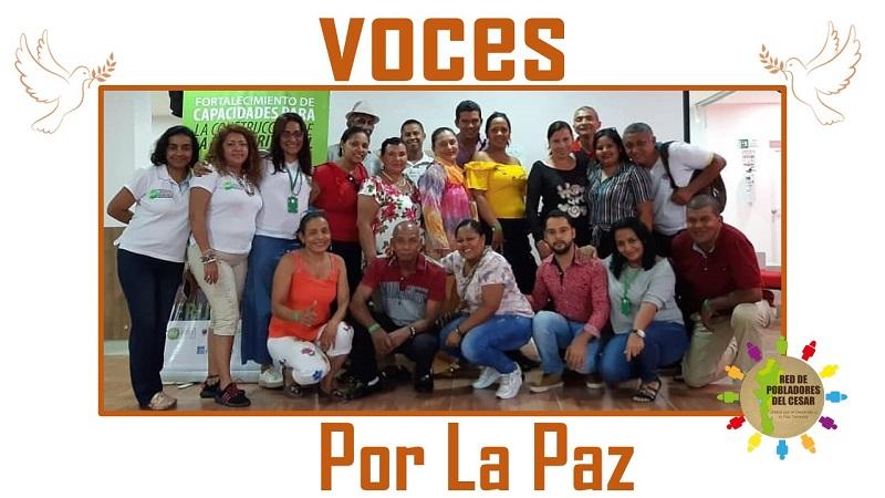 Quince municipios del Cesar conforman la Red de Pobladores del Cesar.   FOTO/CORTESÍA.
