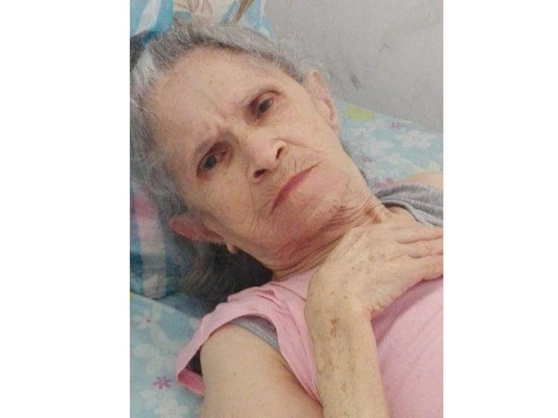 La fotografía de la paciente es publicada para su reconocimiento físico. Foto: Cortesía/EL PILÓN