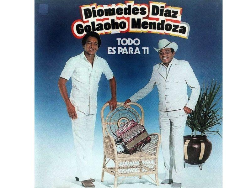 'Simulación' fue grabada por Diomedes Díaz y 'Colacho' Mendoza en el álbum 'Todo es para ti'.        FOTO/CORTESÍA.