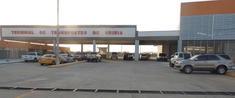 Terminal de Transportes de Uribia, La Guajira.   FOTO/CORTESÍA.
