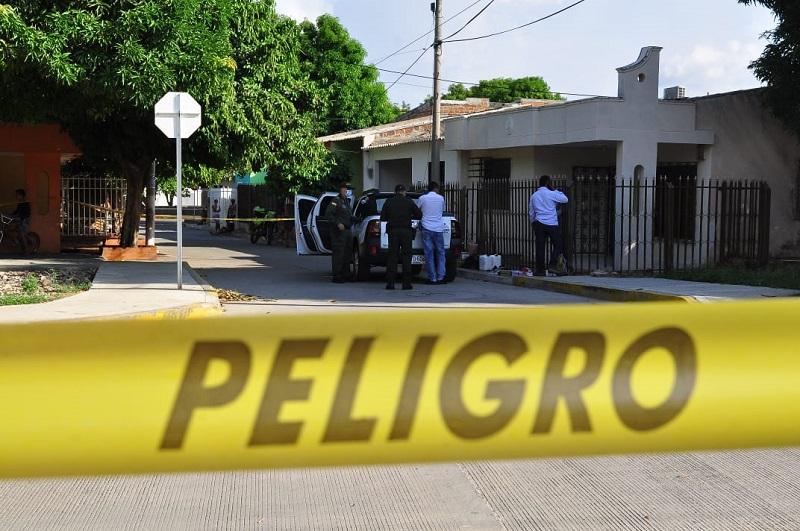 En este sitio sucedió el atentado.  FOTO/JOAQUÍN RAMÍREZ.