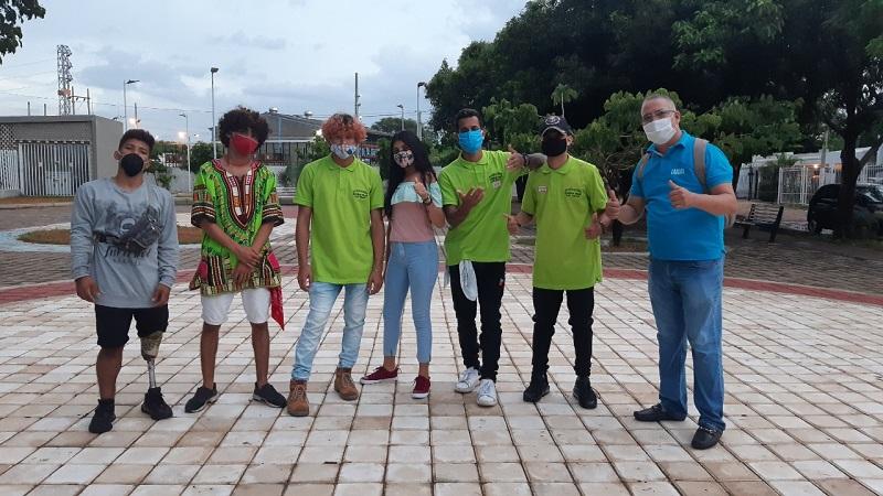 Los jóvenes del grupo Supremacía dejaron atrás el pasado violento y ahora se enfocan en el baile urbano.  FOTO/CORTESÍA.