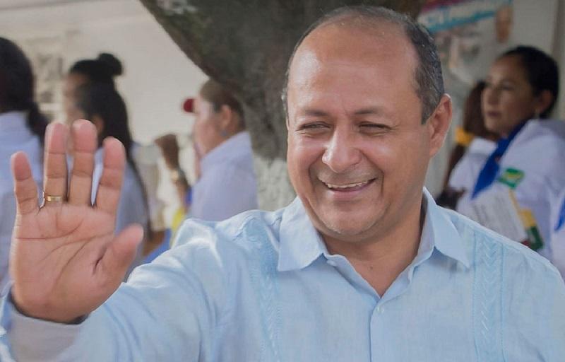 Ovelio Jiménez, alcalde de La Jagua de Ibirico, Cesar.  FOTO/CORTESÍA.