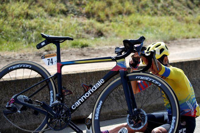 Sergio Higuita, ciclista colombiano.   FOTO/CORTESÍA.