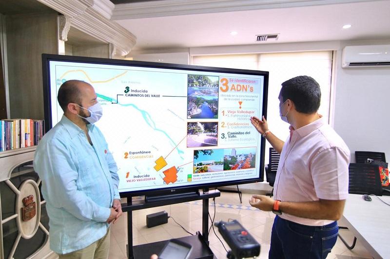 Fueron declarados tres sitios en Valledupar como Áreas de Desarrollo Naranja.   Foto: Cortesía/EL PILÓN